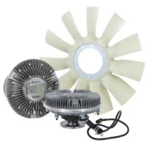 Ventilátory a ventilátorové spojky Knorr-Bremse