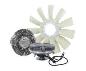Ventilátory a ventilátorové spojky Knorr-Bremse u firmy PENAX