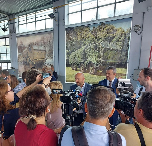 Tisková konference Tatra