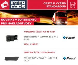 Inter Cars novinky v nabídce