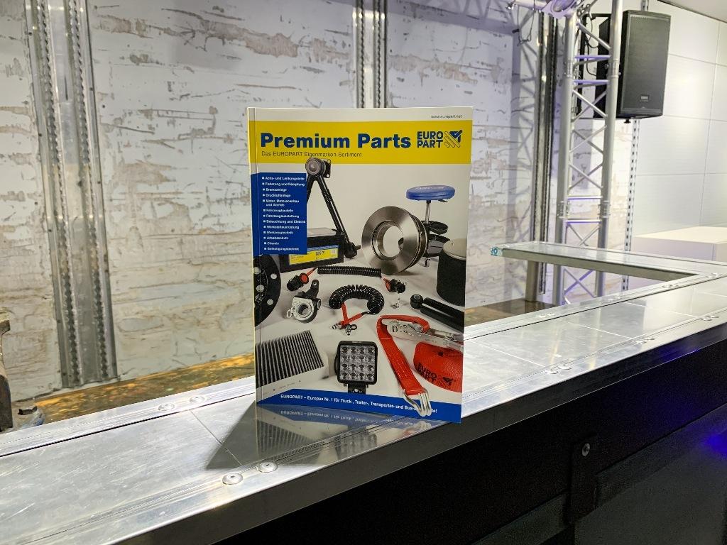 EUROPART nový katalog Premium Parts