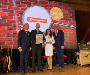 Gebrüder Weiss ČR převzal certifikát Superbrands 2021