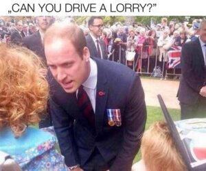 Can you drive a lorry? aneb vtipy o britské krizi s řidiči