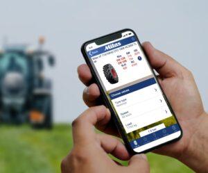 Aplikace Mitas pomáhá farmářům na celém světě určit správný tlak v pneumatikách v terénu i na silnici
